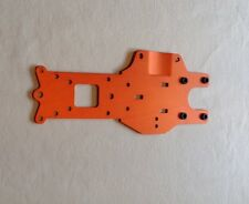 HPI BAJA ALLOY REAR CHASSIS IN (ORANGE) FOR HPI BAJA 5B,5T,5SC,KM,ROVAN