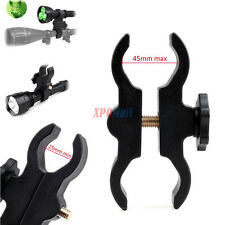 Adjustable Barrel Mount Scope Holder for Hunting Guns Flashlight Telescope Light