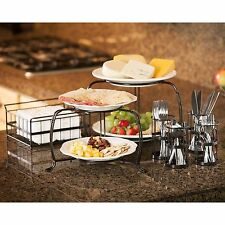 Giftburg 7-Piece Stackable Buffet Caddy Set Brand New