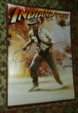 Vintage 1981 Indiana Jones Raiders of the Lost Ark poster 21 x 28 Harrison Ford