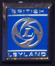 CLASSIC CAR BRISTISH LEYLAND FRONT WING BADGE, BL HOUSE, PART NO 725525,