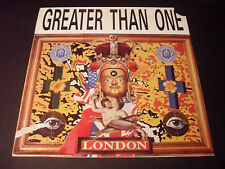 Greater Than One - London - Vinyl LP VG+ Condition