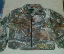 Youth Medium Liberty Advantage camo zip down jacket with pockets