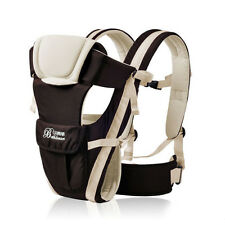 3 Colors Infant Newborn Baby Carrier 3D Backpack Pouch Front Back 4 Positions