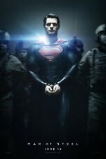 Man Of Steel  - original DS movie poster 27x40 D/S Advance Style B
