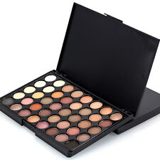 40 Colors Cosmetic Powder Eyeshadow Palette Makeup Set Matt Available A