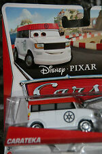 "DISNEY PIXAR CARS 2 ""CARATEKA"" SUPER CHASE, LIMITED TO 4000 UNITS PRODUCED"