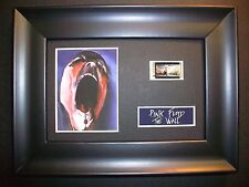 PINK FLOYD Framed Movie Film Cell Memorabilia - Compliments poster animationBlue