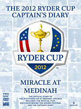 The Ryder Cup 2012 Diary and Official Film 39th 2 x DVD Golf Jose Maria Olazabal