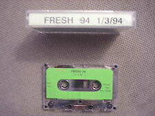 VERY RARE PROMO Fresh 94 CASSETTE TAPE reggae LIVE MIX Junior Cacao ? unknown !