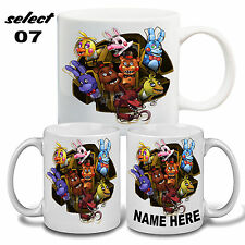 personalised five nights at Freddy's mug boy girl gifts Birthday any occasion