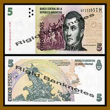 Argentina 5 Pesos, ND 2003 P-353 Unc