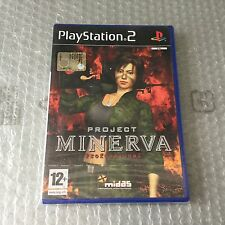 VINTAGE# PS2 PLAYSTATION PROJECT MINERVA  #PAL SEALED
