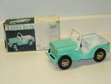 Vintage Tonka Jeep Dispatcher, Pressed Steel Toy Vehicle In Box, No. 200