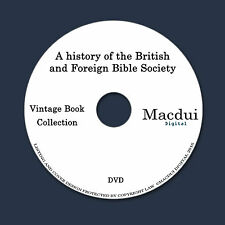 History of the British and Foreign Bible Society – 10 PDF e-Books on 1 DATA DVD