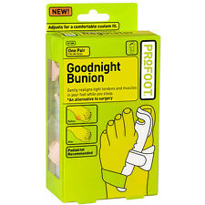 Night Time Bunion Splints Correctors Podiatrist Treatment Cure Corrector Pair