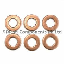 JAGUAR XF 2.7 D DIESEL INJECTOR SEALS FOR SIEMENS INJECTORS X 6