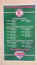 Boston Red Sox 2004 World Series Champion DUNKIN DONUTS  Magnet  #3 R8T4