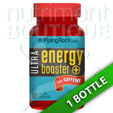 Ultra Energy Booster 90 Coated Caplets Ginseng/Guarana/Gotu/Bee Pollen by Piping
