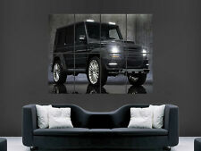 MERCEDES 4X4 CAR   WALL POSTER ART PICTURE PRINT LARGE HUGE