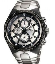CASIO EDIFICE Men EF-534D-7A Silver Dial 3subdial Stainless Steel Band