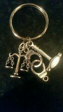 Solicitors keyring Scales of Justice/gavel/handcuffs Humorous Thanks gift bag