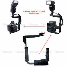 Camera Supporto Stativo Flash per Canon Nikon SB910 SB900 SB800 SB700 Speedlite
