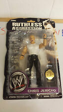 WWE RUTHLESS AGGRESSION CHRIS JERICHO Y2J BELT TITLE NEW AND CARDED