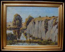 Alfred Gregers-Rasmussen. Lake landscape Bornholm summer 1939.