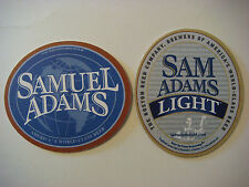 Coaster ~*~ SAMUEL ADAMS World Class Light Beer ~ See STORE For 1000s More Items