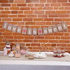 Love Is Sweet - Bunting, Candy Buffet Cart Bunting