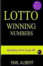 LOTTO WINNING NUMBERS Germany Lotto 6 Aus 49 by Emil Albert (2015, Paperback)