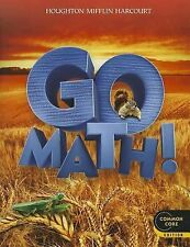 Grade 2 HMH Go Math Student Worktext Edition Common Core 2nd