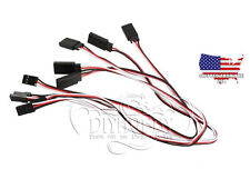 Servo plug extension lead wires JR. 5 PACK  300mm 12in RC