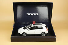 1:18 PEUGEOT 3008 SUV white color diecast model + GIFT