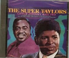 The Super Taylors - Little Johnny Taylor/Ted Taylor - CD - NEW