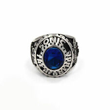 Sonic The Hedgehog 25th Anniversary Ring Blue Cubic Zirconia Sega Size 11 Ring