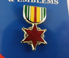 BRAND NEW Lapel Pin VIETNAM WOUND Medal Enamel 1 3/16""