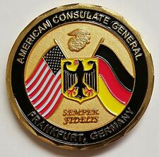 Marine Security Guard MSG-Det American Consulate General Frankfurt, Germany 2""