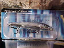 Salmo Floating Sting Minnow S6F-SMB in SILVER METALLIC BLEAK for Walleye/Trout