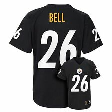 (2016-2017) Pittsburgh Steelers Le'VEON BELL nfl Jersey YOUTH KIDS BOYS (xl)