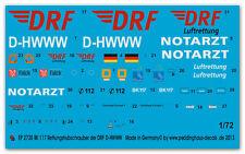 1/72 EP 2730 BK 117 Elicottero di salvataggio della DRF Christoph Europa D-hwww