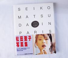 Jean Francois Jonvelle Photo-Book Seiko Matsuda in Paris Japan Idol Singer RARE!
