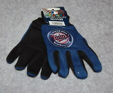 CHILDRENS/YOUTH MINNESOTA TWINS MLB ALL PURPOSE/UTILITY WORK GLOVES 4-7 YEARS