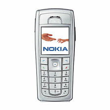 Refurbished New Condition Nokia 6230 6230i Mobile Phone Camera Silver Sim Free