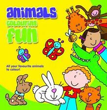 Holland Publishing 486H Animals Colouring Fun Childrens Colouring Book - New