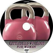 KETTLEBELLS WORKOUT FOR WOMEN EASY TO FOLLOW HEALTH & FITNESS GUIDE NEW  DVD
