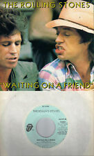 THE ROLLING STONES  Waiting On A Friend  rare promo 45 with PicSleeve from 1981