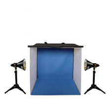 Lumiere L. A. L60288 24 in Photo Tent 4x Color Back Ground 2x 100W 5500K Light