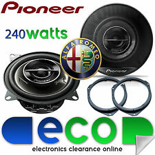 "PIONEER Alfa Romeo Mito 2008-2014 6.5"" 17cm 240 watts Front Door Car Speakers"